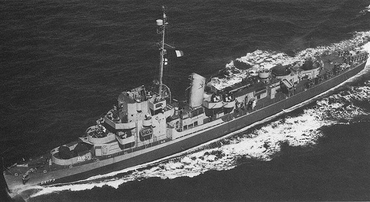 Philadelphia kísérlet USS Eldridge DE-173