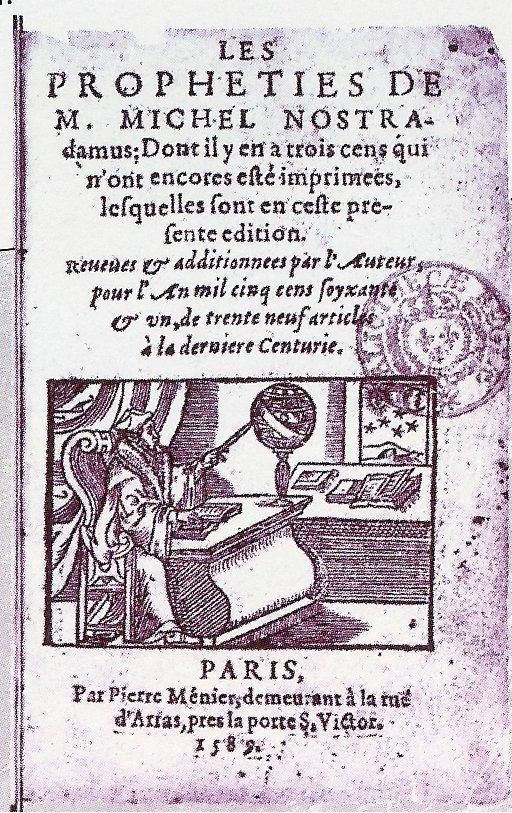 Nostradamus Centurie