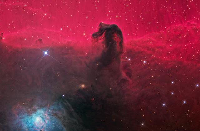 Csillagok bölcsője a Ló fej-köd