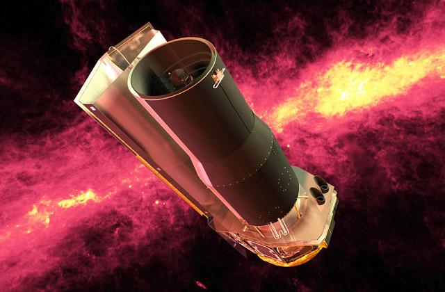Csillagok születését vizsgáló Spitzer űrtávcső